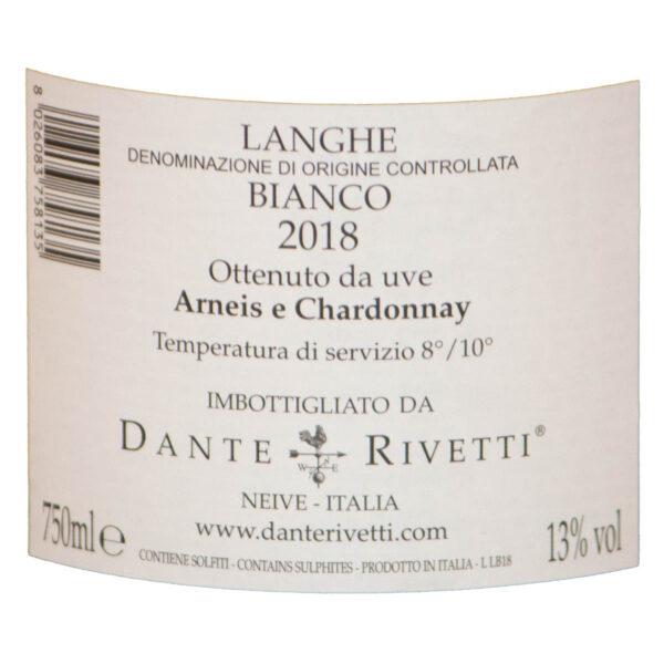Dante-Rivetti-Langhe Bianco-2018-E